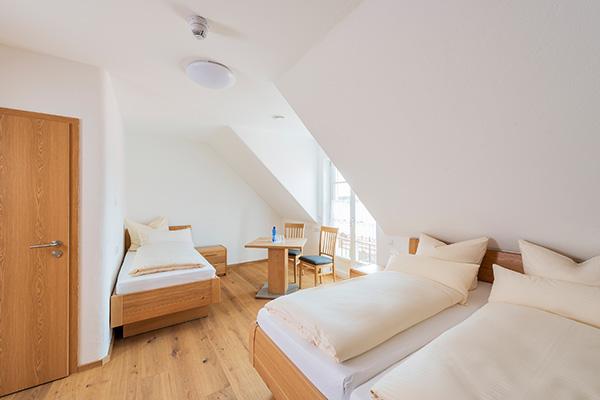 Pension Neubauer Mehrbettzimmer