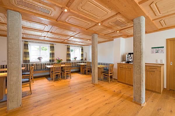 Gästehaus Neubauer Frühstücksraum